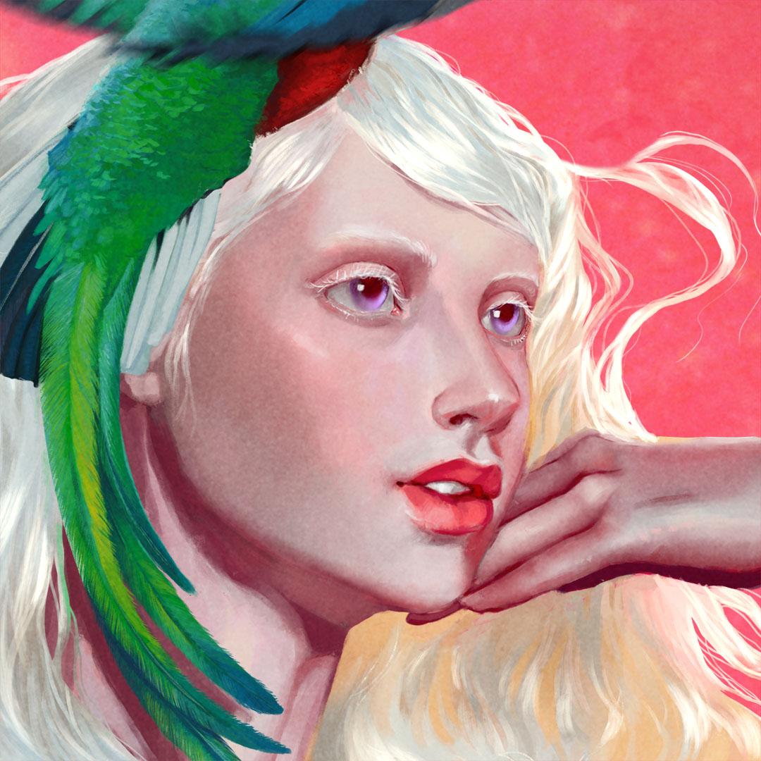 Albino Quetzal thumbnail